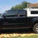 Ryan Bartholomew's used Toyota Tacoma, side view