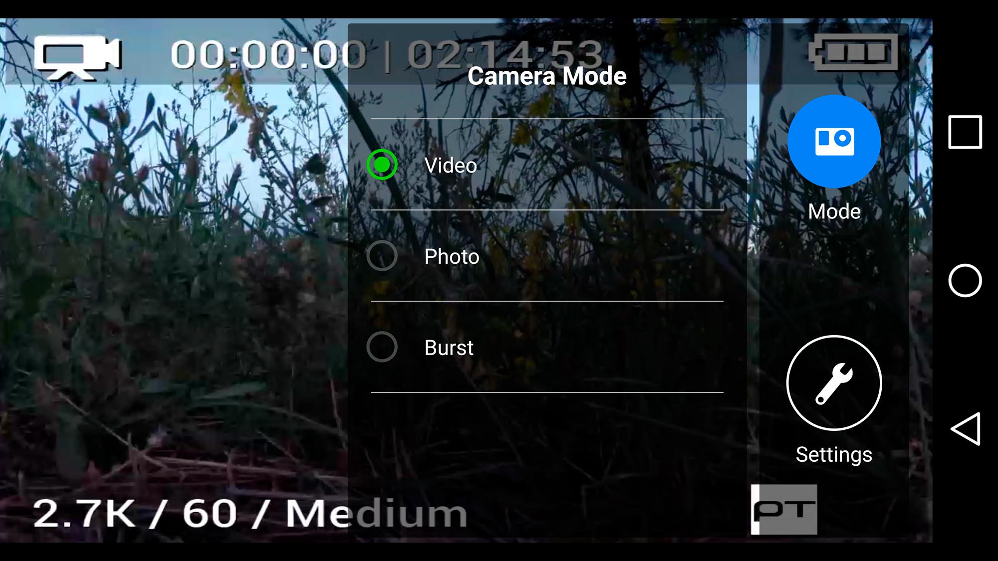 camera-mode