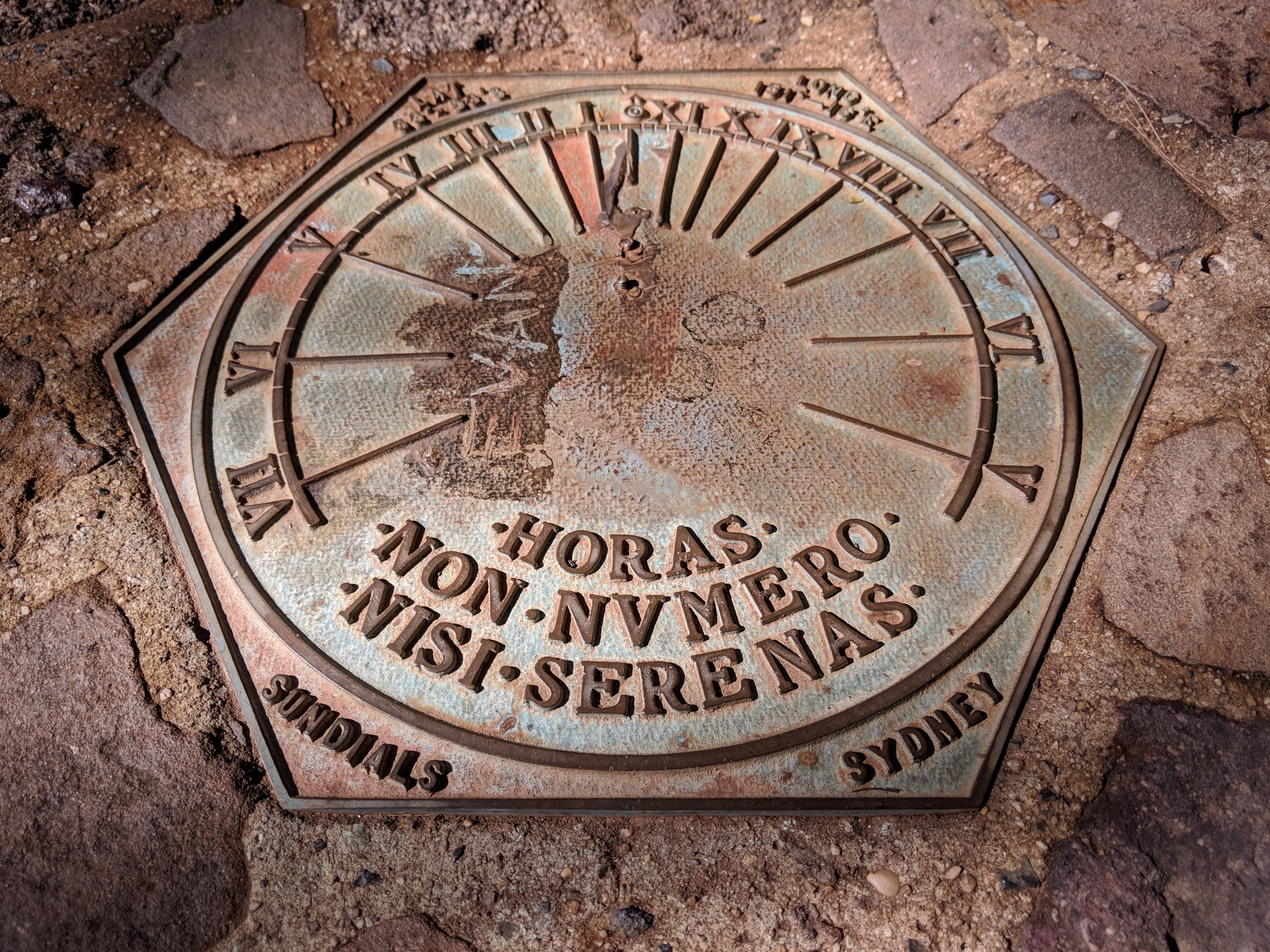 Evans Lookout Sundial Blue Mountains National Park